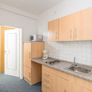 Küche im Apartment small